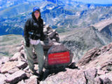 HO030  Photographs pulled off of Sheila Townsend's camera from her hike up Long's Peak, during...