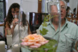 The Front Range sustains a growing wine industry. On Monday August 6, 2007 Julie Balistreri, left...