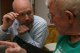 Reverend Dale Poland works as a chaplain at various hospice organizations and was making his...