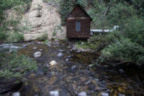 This is the hydro-electric plant, at 30-Mile Resort, Tuesday afternoon, August 28, 2007, Creede....