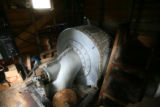 This 1892 turbine is part of the hydro-electric plant, at 30-Mile Resort, Tuesday afternoon,...