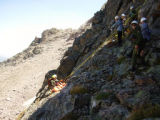 Photos courtesy Rocky Mountain National Park  The woman involved in the Longs Peak rescue...
