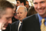 Rep. Mike Coffman, R-CO., waits in line before an interview with the media in Statuary Hall on...