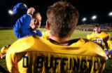 (NUCLA, Co., SHOT 10/8/2004) Ken Soper (left, in blue), 66, has been head coach of the Dolores...