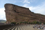 Red Rocks Amphitheater shot in Morrison, Colo.,  ///Red Rocks Amphitheater
