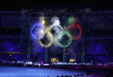 The Opening Ceremonies for the 2006 Winter Olympics took place at the Stadio Olimpico in Turin...