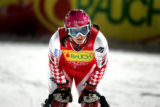 Croatian skier Janica Kostelic took first place in the Women's Slalom at the FIS Alpine World Ski...