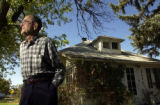 (DENVER Colo., October 7, 2004)  George Schmaljohn, a WW II veteran,  stands to lose his house to...