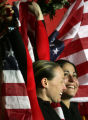 Americans Shauna Rohbock and Valerie Fleming took the silver medal in the Women's Bobsledding...