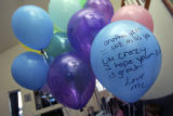 A message written by Melissa Givens to her late husband, Jesse Givens, on the day of what would...