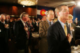 Colorado Republicans on hand for President George W. Bush's appearance at the Brown Palace Hotel....