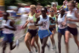 Women's International Team Race at the 2006 Celestial Seasonings 10k in Boulder,...
