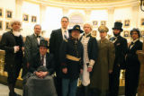 In honor of President's Day , the House and Senate were visited by former President's (L to R) ...