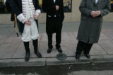 George Washington, Andrew Jackson and William McKinley, all members of The President's Day Society...