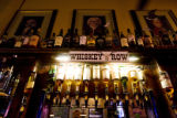 Whiskey is lined up at the Whiskey Bar.  EDS visits the Ballpark neighborhood. Just in time for...