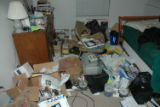 Police investigation photos from the home of Matthew Murray, the gunman that shot and killed 2...