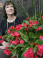 Plant expert Susan Stauber, who works at Tagawa Greenhouse Entprises as the retail ready program...