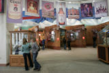 Visitors gather in the lobby of the Coors Brewing Company in Golden, Colorado  Tuesday February...