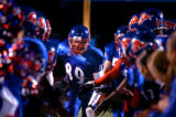 (FOUNTAIN, Co., SHOT 10/1/2004) Fountain-Fort Carson High School senior WR/DB Kenneth Fisher (#89)...