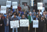 Supporters of the Colorado Oil and Gas Association which represents the state's $23 billion oil...