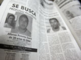 "A copy of the local newspaper, ""Vallarta Opina"" published a mug  shot of Alfonso Ramirez..."