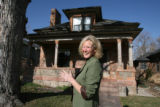 AIA Award winner: Jan Metzler, standing in front of her home in east Washington Park on April 2,...