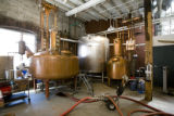 The boilers at Stranahan Colorado Whiskey distiller. EDS visits the Ballpark neighborhood. Just in...