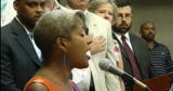 Jazz singer Rene Marie was invited to sing the National Anthem at Mayor John Hickenlooper's State...