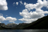 (PG04127) People boat on Grand Lake on Thursday, July 3, 2008. Colorado, for the first time in...