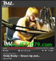 Susan Olsen, who played Cindy Brady of The Brady Bunch, at a radio interview