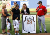 Drillers - Frisco Baseball:   Ceremony from the start of the Drillers-Frisco game on Wed. evening...