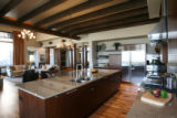 The kitchen in Casa Vecchio e Nuovo, one of the houses in this Parade of Homes this year. The...
