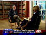 John Ramsey talks with 9News' Paula Woodward during an interview in Denver on Wednesday, July 9,...