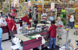 A busy time at Edwards market in Fort Morgan on Wednesday July 9,2008.  Edwards Market is...