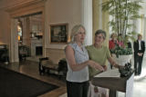 First Lady Jeannie Ritter, right, and former First Lady Frances Owen, launch a new Governor's...