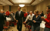 U.S. Sen. John Thune, R-S.D., a breakfast in Minneapolis with the Colorado delegation attending ...
