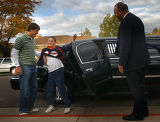 Thorton, Colo., photo taken October 19, 2004-York Middle School sixth grader, Jacob Stoller...