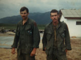 MJM194  Vietnam veteran and Medal of Honor recipient, Pete Lemon (cq), right, is seen with fellow...