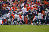 DM0406  Denver Broncos YYY San Diego Chargers WWW in the ZZZ quarter on Sunday afternoon, Sept....