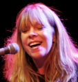 Singer Rickie Lee Jones, right, and guitarist Peter Atanasoff (cq), perform on etown at the...