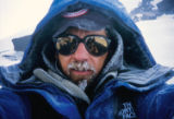 Jim Davidson during his climb of Denali. On June 21, 1992, Jim was descending Mt. Rainier with his...
