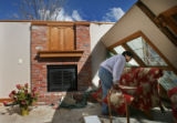 A deadly tornado hit the small town of Holly, Colorado, killing one woman, injuring 11 and...