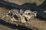 JOE1175 Aerial view on Friday morning, May 23, 2008 of parts of Windsor, Colo., that was hit by a...