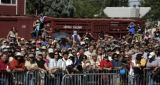 Democratic Presidential candidate Barack Obama begins his three day campaign stop in Colorado,...