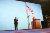 The Republican National Convention opened with a brief program and speeches by First Lady Laura...