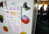 (DENVER, Colo., Aug. 7, 2004)  A chore list made up by Rebecca Granillo lists expected chores for...