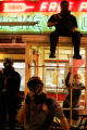 A day after violent clashes between riot police and Republican National Convention protesters in...