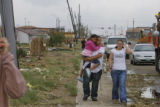 The Denver area was hit by a large tornado that damaged over 200 structures and homes.///A Man...