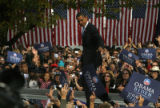 With just over a week to go until the US Presidential election, Democratic nominee Barack Obama...