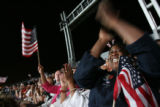 Emotions and excitement runs high both inside Denver's Ivesco Field and outside the stadium, as...